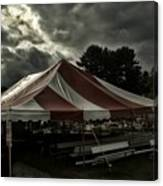 Carnival Tents Canvas Print