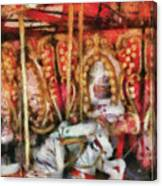 Carnival - The Carousel - Painted Canvas Print