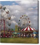 Carnival - Traveling Carnival Canvas Print