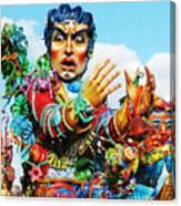 Carnivale Di Sciacca Canvas Print
