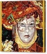 Carnivale Mask #12 Canvas Print