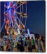 Carny Night 6 Canvas Print