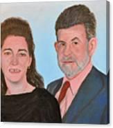 Carol and Max Canvas Print
