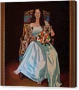 Carol Anne Clark Wife Of State Judge Of Georgia Herman Coolidge Canvas Print