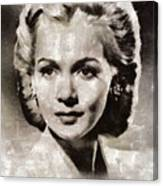 Carole Landis, Vintage Actress Canvas Print