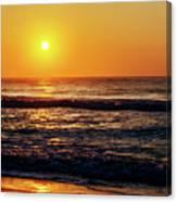 Carolina Beach Sunrise Canvas Print