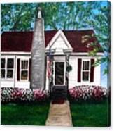 Carolina Home Canvas Print