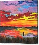 Carolina Sunset Canvas Print