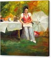 Carolina Tea Canvas Print