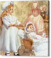 Caroline's Dolls Canvas Print