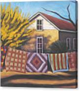 Carolines Quilts Canvas Print