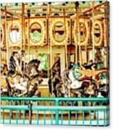 Carousel - Como Zoo, St. Paul, Minnesota Canvas Print