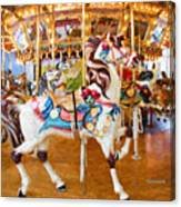 Carousel Dreams Canvas Print