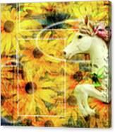 Carousel Escape Canvas Print