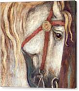 Carousel Horse Painting Canvas Print