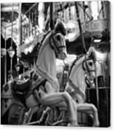 Carousel Horses No.2 Canvas Print