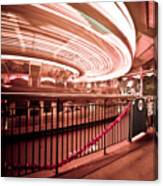 Carousel Lights #2 Canvas Print