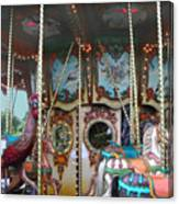 Carousel With Mirrors Canvas Print