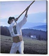 Carpathian Highlander Canvas Print