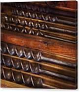Carpentry - Tool - Archimedes Little Helper  Canvas Print