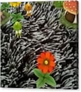 Carpet Under Water Canvas Print