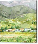 Carpinteria Salt Marsh Nature Park Canvas Print