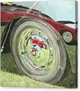 Carrera Chrome Canvas Print
