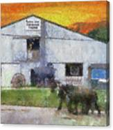 Carriage Tour Mackinac Island Upper Peninsula Michigan Pa 01 Canvas Print