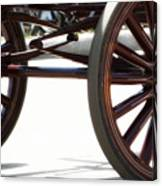 Carriage Wheels Canvas Print