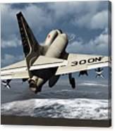 Carrier Launch Canvas Print
