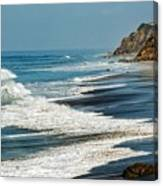 Carrillo Beach Canvas Print
