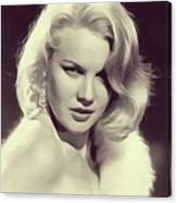 Carrol Baker, Vintage Actress Canvas Print