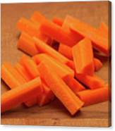 Carrot Sticks Canvas Print