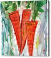Carrots Canvas Print