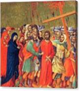 Carrying Of The Cross 1311 Canvas Print