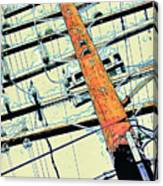 Carson Power Line Canvas Print