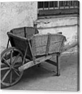 Cart For Sale II Canvas Print