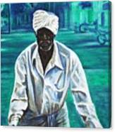 Cart Vendor Canvas Print