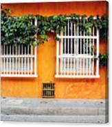 Cartagena Street Canvas Print