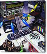 Carton Album Cover Artwork Front Canvas Print