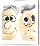 Cartoon Faces Canvas Print