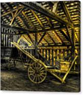 Carts Before The Horse Canvas Print