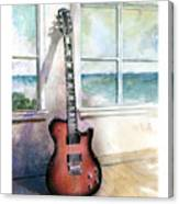 Carvin Electric Guitar Canvas Print