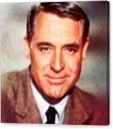 Cary Grant By John Springfield Canvas Print