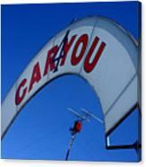 Caryou Canvas Print