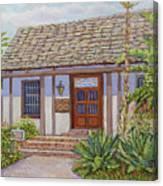 Casa De Miguel Pedrorena Canvas Print