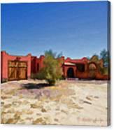 Casa Rojas Canvas Print