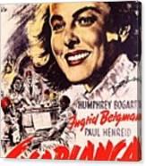 Casablanca B Canvas Print