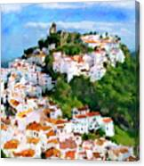 Casares From Laura's View Canvas Print