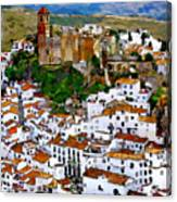 Casares From Signal Hill Canvas Print